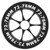 Wheels 72mm-78mm