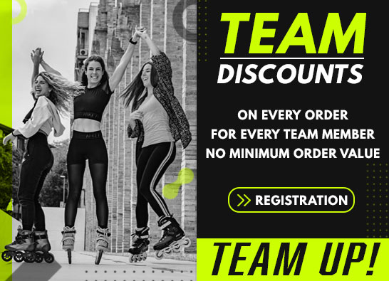 Team discounts at der-rollenshop.de