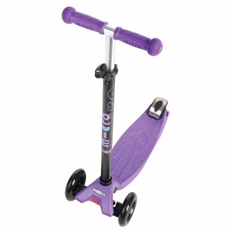 maxi micro kickboard scooter lila. Black Bedroom Furniture Sets. Home Design Ideas