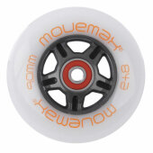 Movemax Inlineskate Rolle Speed 90mm CW Abec7 Set