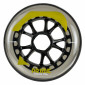Prime Skaterhockey Rolle Tribune Grey 100mm/76a 3er-Pack