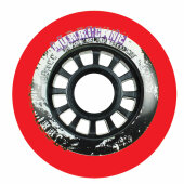 Powerslide Inliner Rolle Hurricane 76mm/85a Rot (4er-Pack)