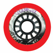 Powerslide Inliner Rolle Hurricane 80mm/85a Rot (4er-Pack)