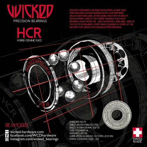 WCD Wicked HCR Swiss by Jesa Kugellager (Stück)