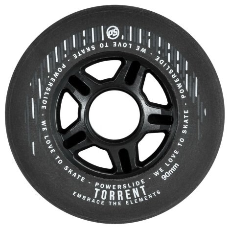 Powerslide Torrent Rain Regenrolle 90mm (4er-Pack)