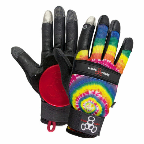 Triple Eight Tie Dye Longboard Slideglove/Handschuh