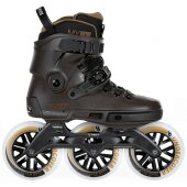 Powerslide Inlineskates Next Brown 125 schwarz
