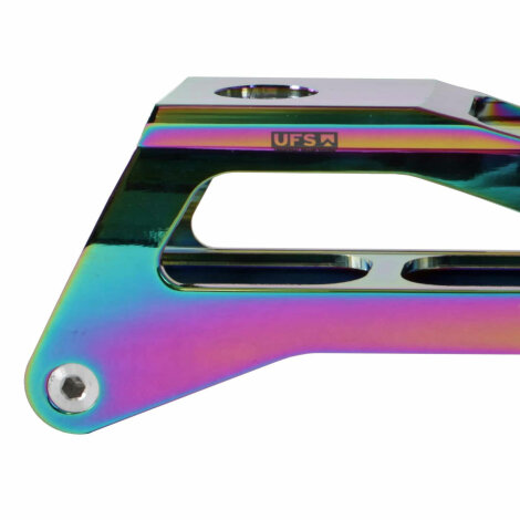GROUND CONTROL TriSkate Schiene V2 UFS 110mm oilslick, neochrome