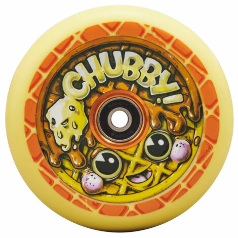 Chubby Melocore Stunt Scooter Rolle (110mm - Waffle)